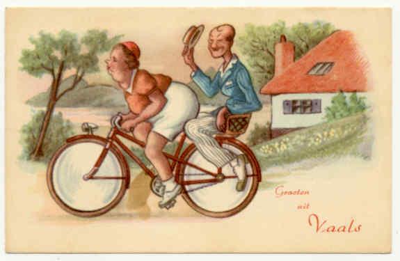 cartão postal holandês
