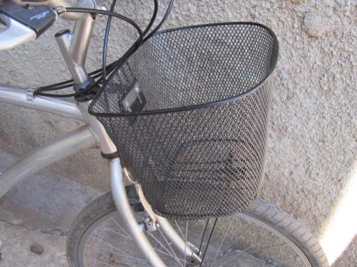cestinha de bicicleta