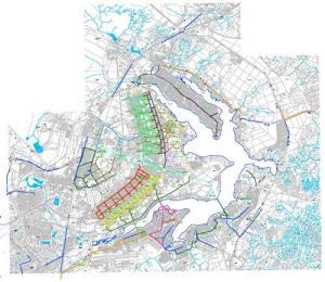 Ciclovias do Plano Piloto, Lagos Sul e Norte