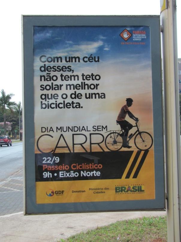 """Cartaz Dia """"sem"""" Carro"""