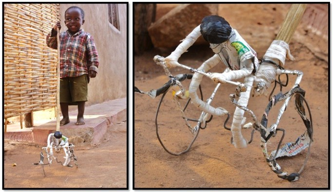 galimoto, bicicleta, bicycle, wire, toy