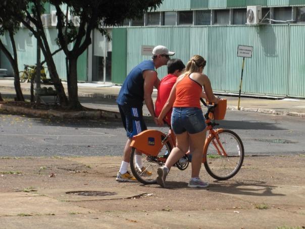 bicicleta pública serve pra muita coisa!