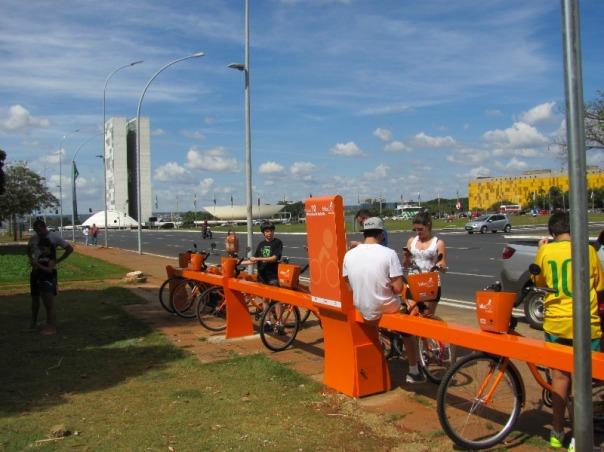 bicicleta pública - Congresso Nacional - Brasília