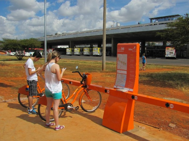 bicicleta pública Brasília - Rodoviária